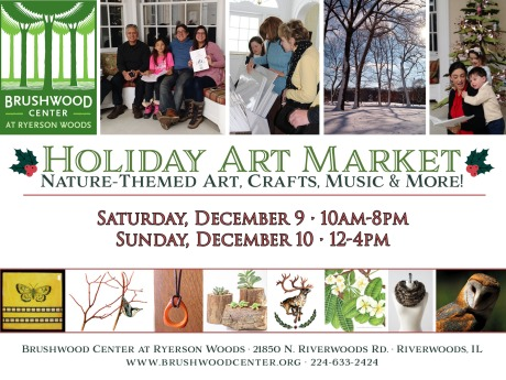 Holiday Art Market card