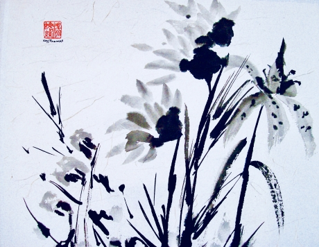 Thomas - Ink Flowers